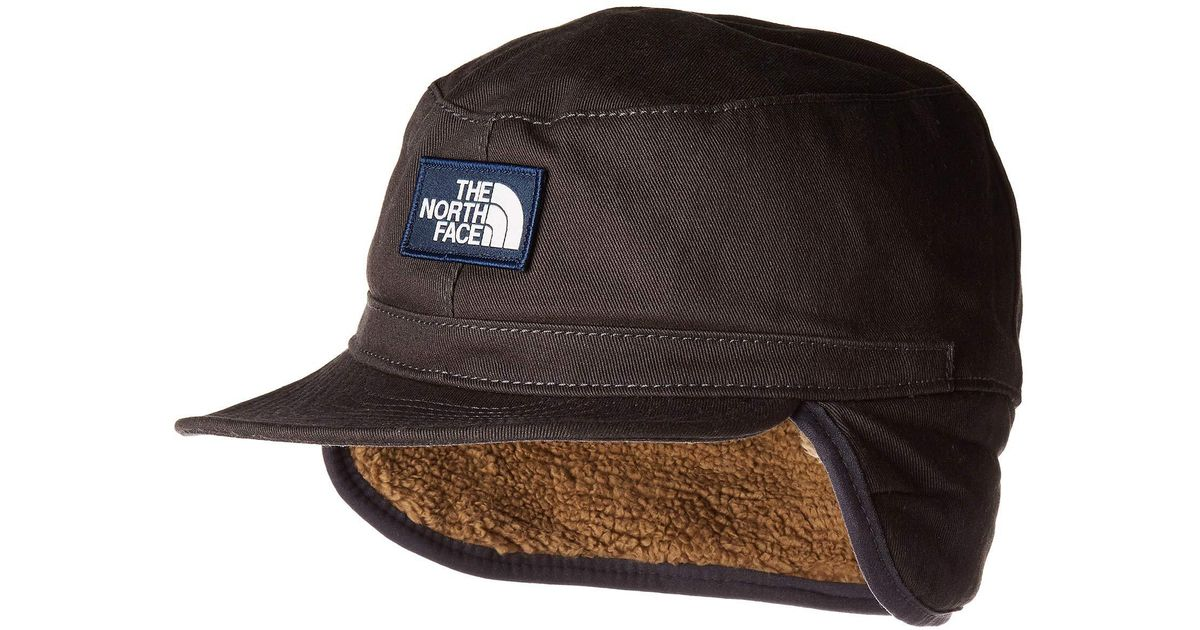 6b2d4b09fe9ab The North Face Campshire Earflap Cap (weathered Black) Caps in Black for  Men - Lyst