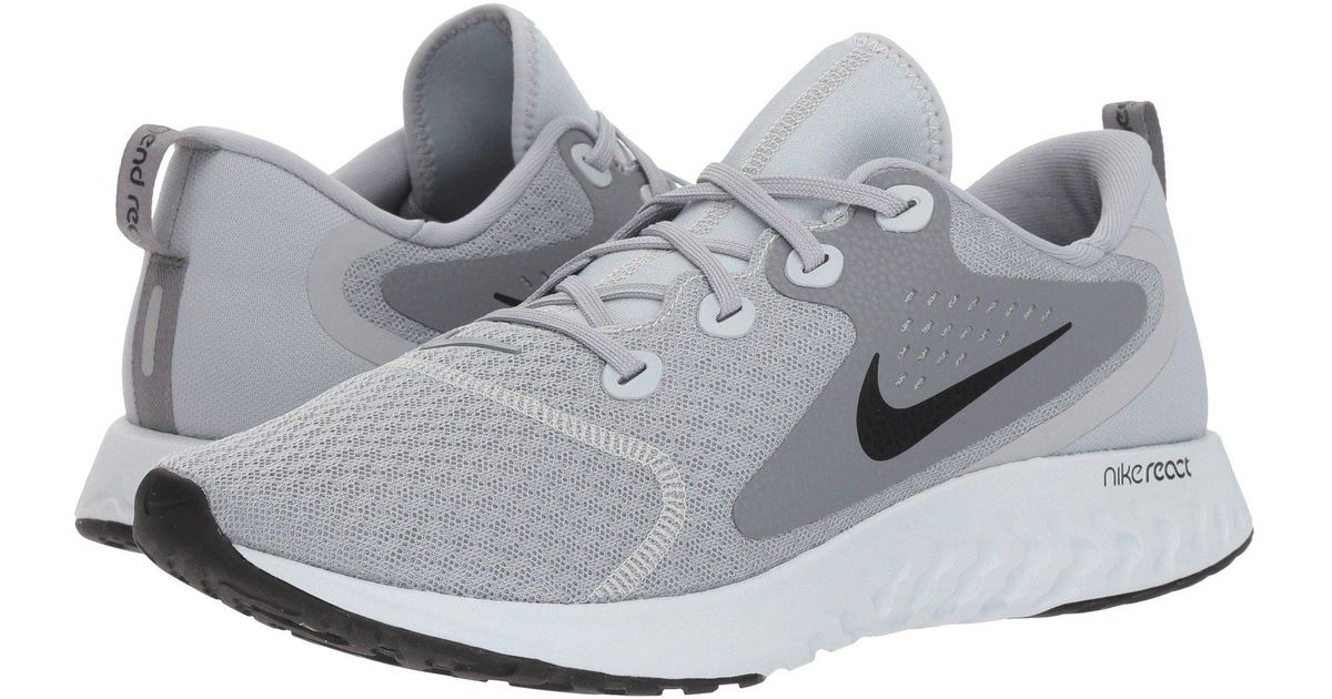 d90da63e3c15b Lyst - Nike Legend React (diffused Blue white blue Void) Men s Running  Shoes in Gray for Men