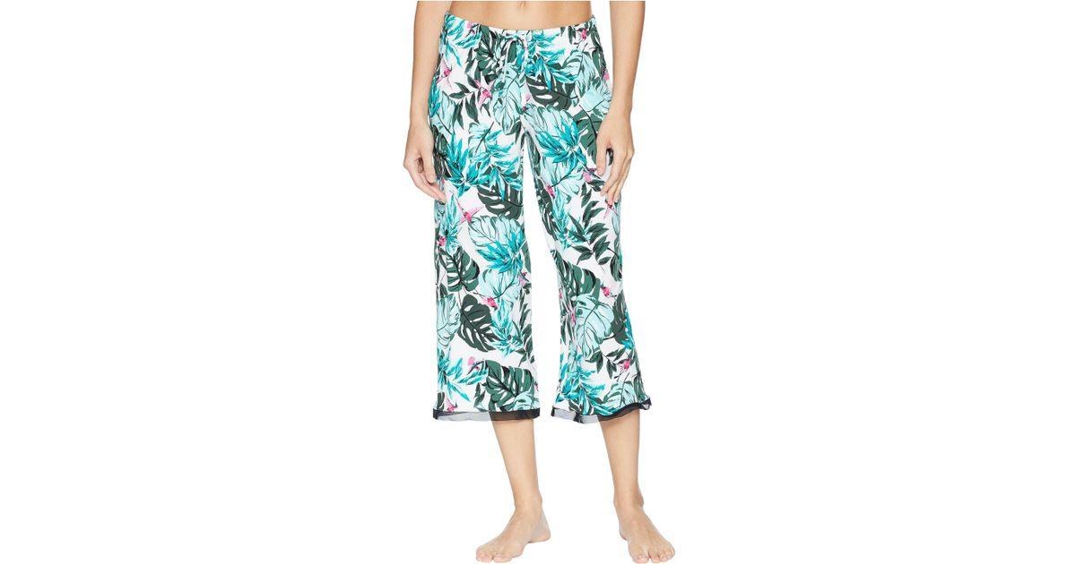 d1f2951fd4 Lyst - Jockey Cropped Pants in Blue - Save 29.629629629629633%
