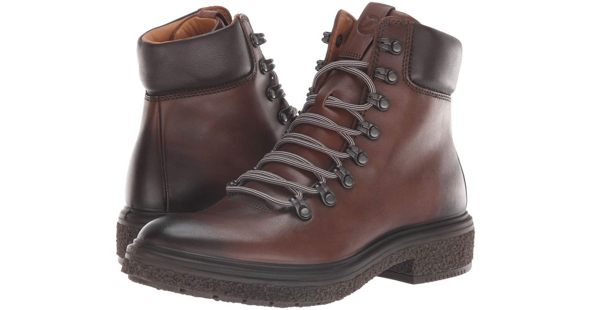 1e25240281c8f Ecco Crepetray Boot (mink Full Grain Leather) Lace-up Boots in Brown - Save  63% - Lyst