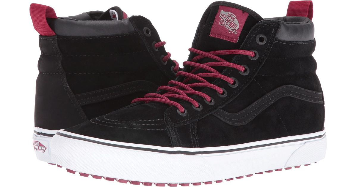 5242d106ea Lyst - Vans Sk8-hi Mte in Black for Men