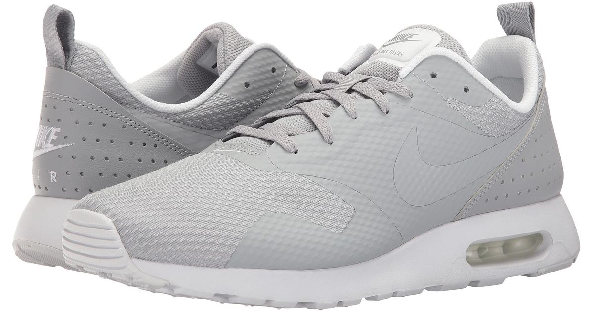 uk availability 64ba6 32d2e Lyst - Nike Air Max Tavas in Gray for Men