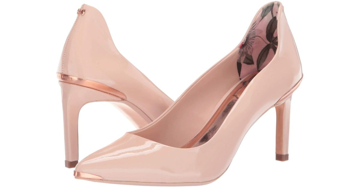 f6d405f42 Lyst - Ted Baker Eriinl (nude) Women s Shoes in Natural