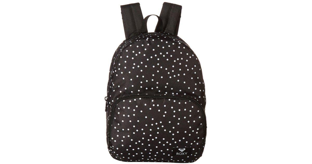 eaa2aa7a6d2 Roxy Mini Always Core Backpack (bright White Ax Boheme Border) Backpack  Bags in Black - Lyst