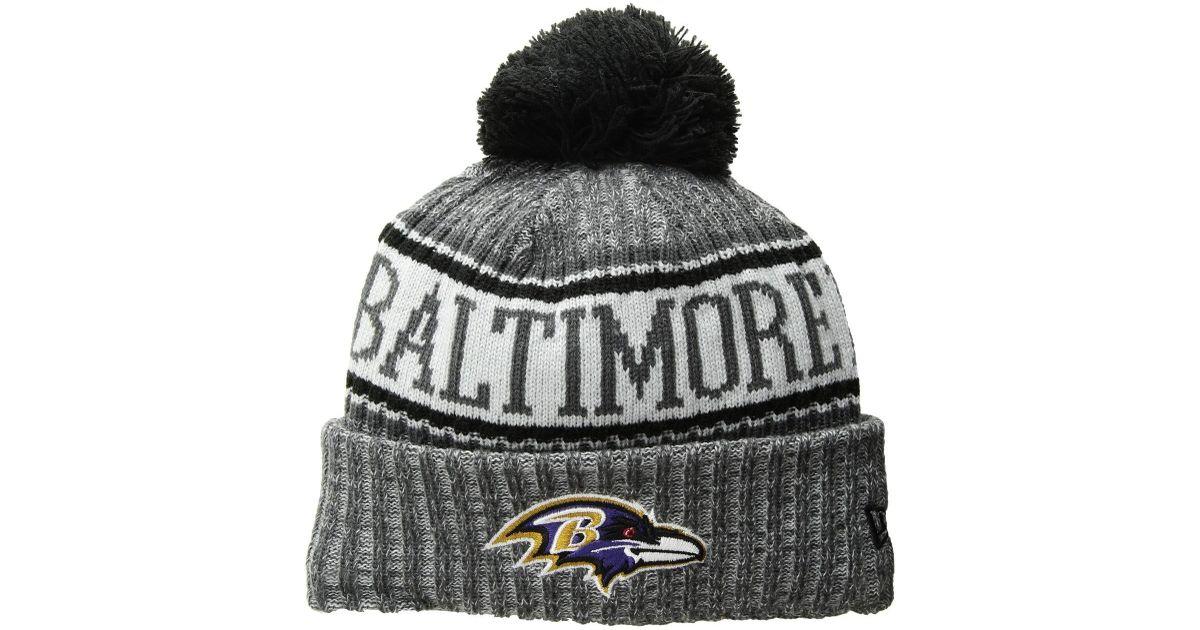 Lyst - KTZ Baltimore Ravens Sport Knit (dark Grey) Baseball Caps in Gray  for Men 20e22fc97