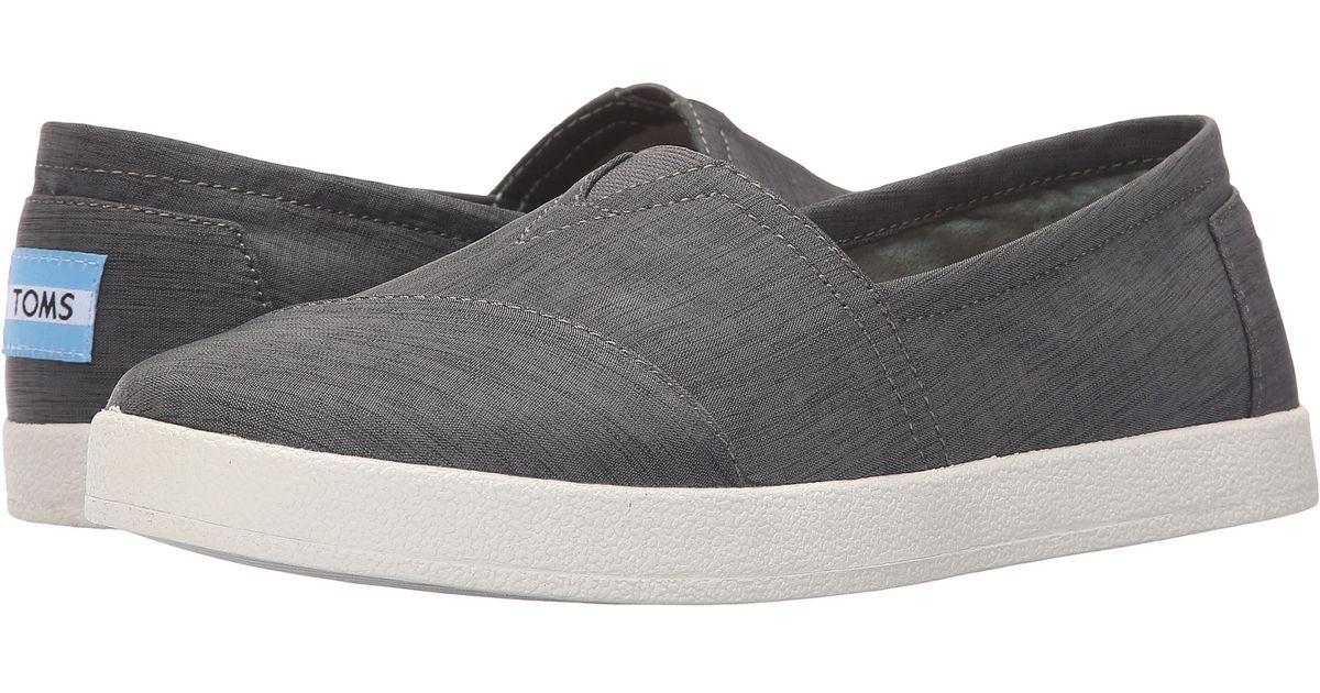 Lyst - TOMS Avalon Slip-on in Gray 6231011d84fb
