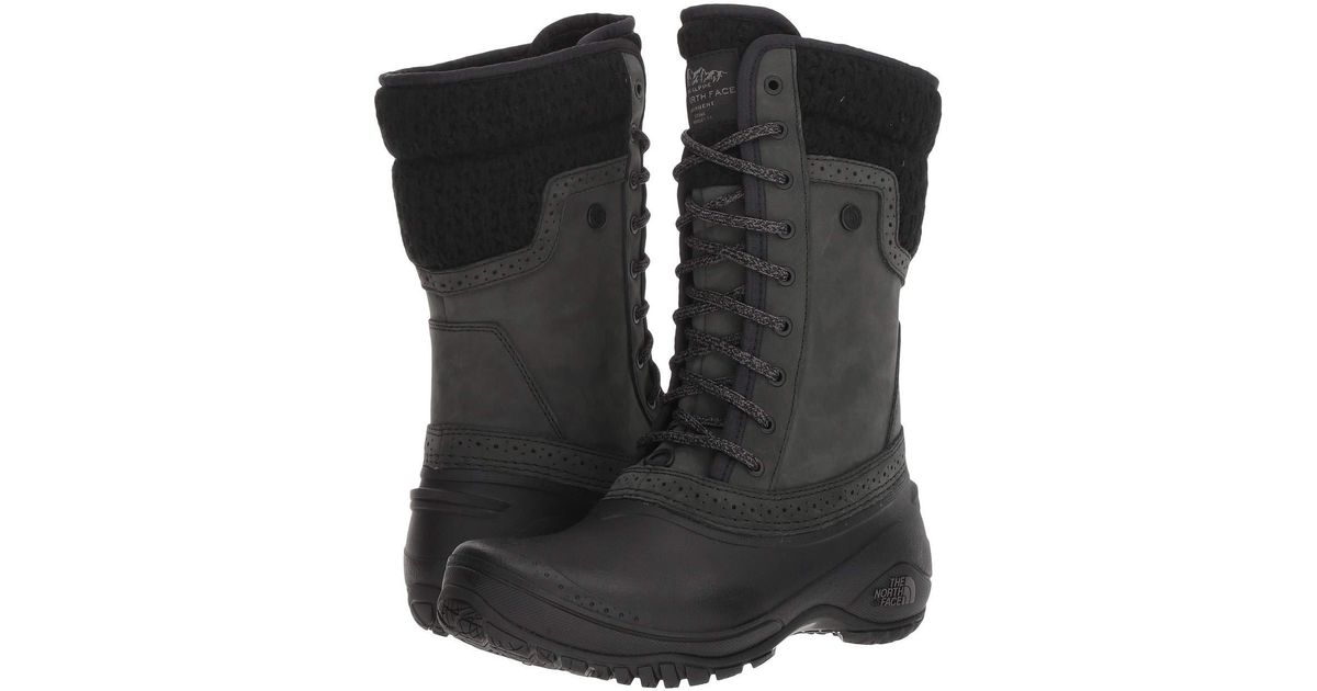cf546442e The North Face - Black Shellista Ii Mid (dachshund Brown/demitasse Brown)  Women's Cold Weather Boots - Lyst