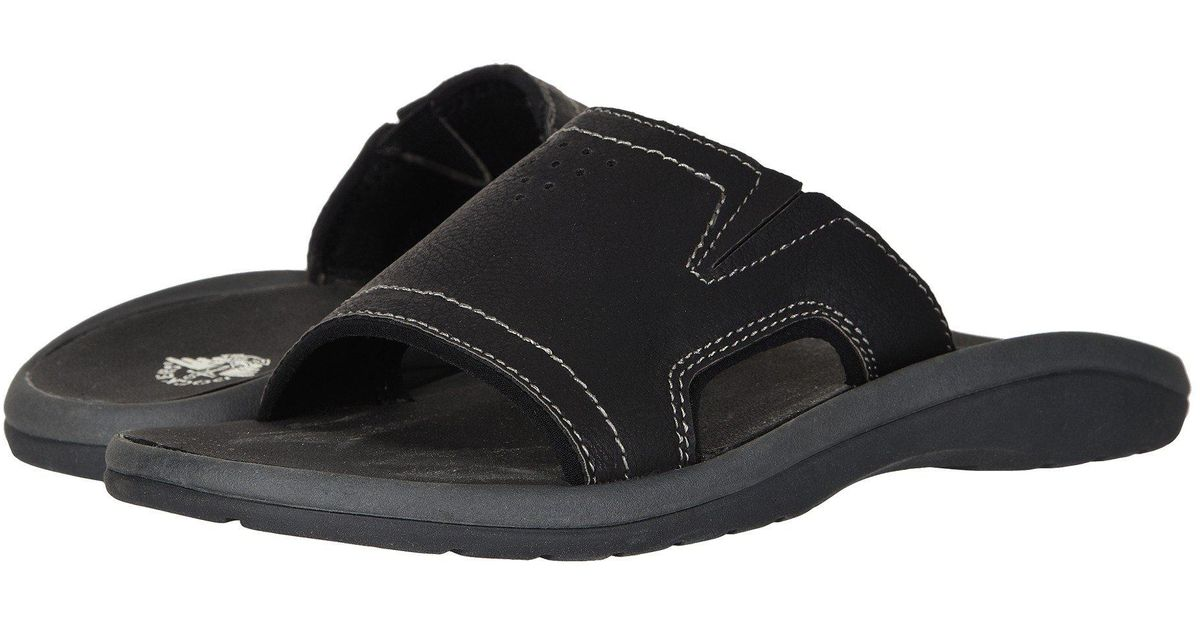 DistressedMen's Sandals Lyst Landingblack For Men Dockers BxdreCo