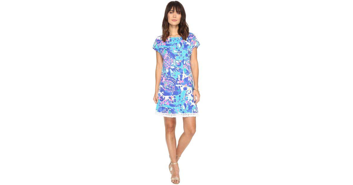 7658ddc7a0a Lilly Pulitzer Tilla Dress in Blue - Lyst