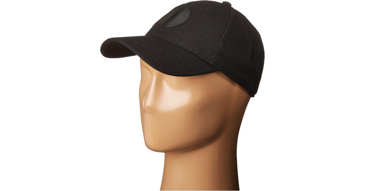 dba588de098 Lyst - Converse Core Wool Baseball Cap in Black for Men