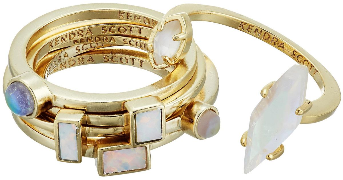 Kendra Scott Pheobe Escape Ring Set