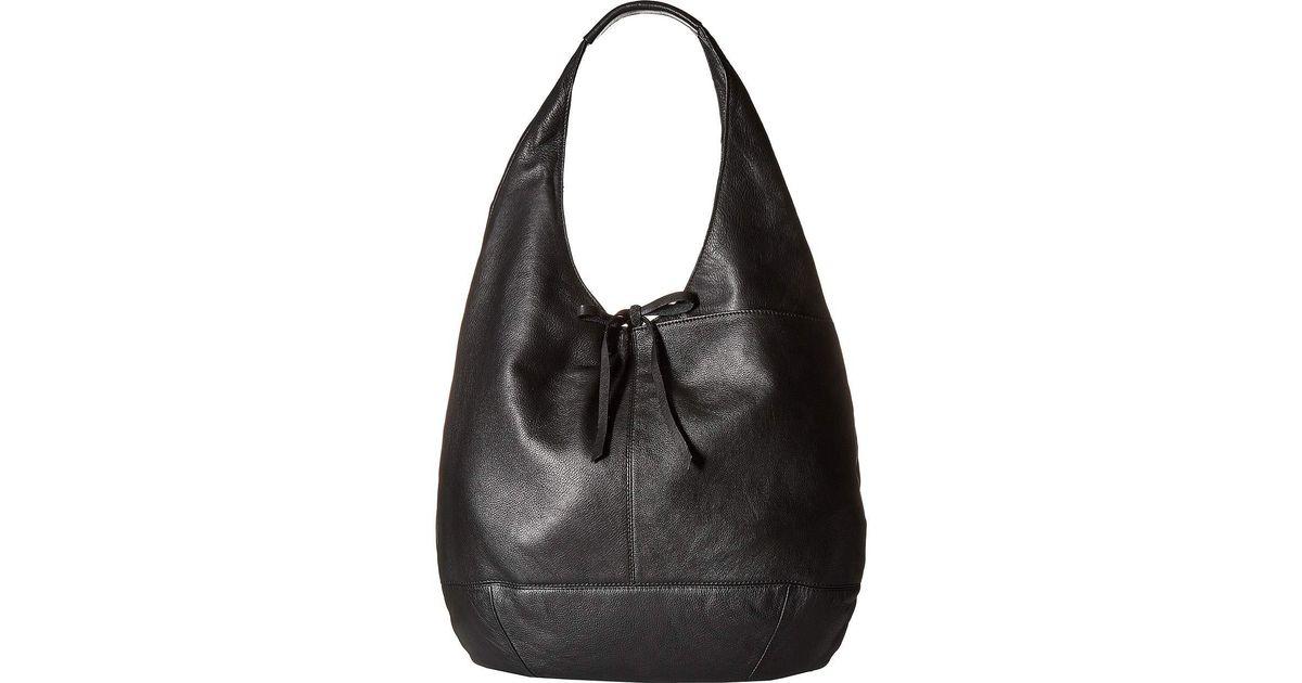 Lyst - Lucky Brand Mia Hobo (black 1) Hobo Handbags in Black a9cf7446b8ca1