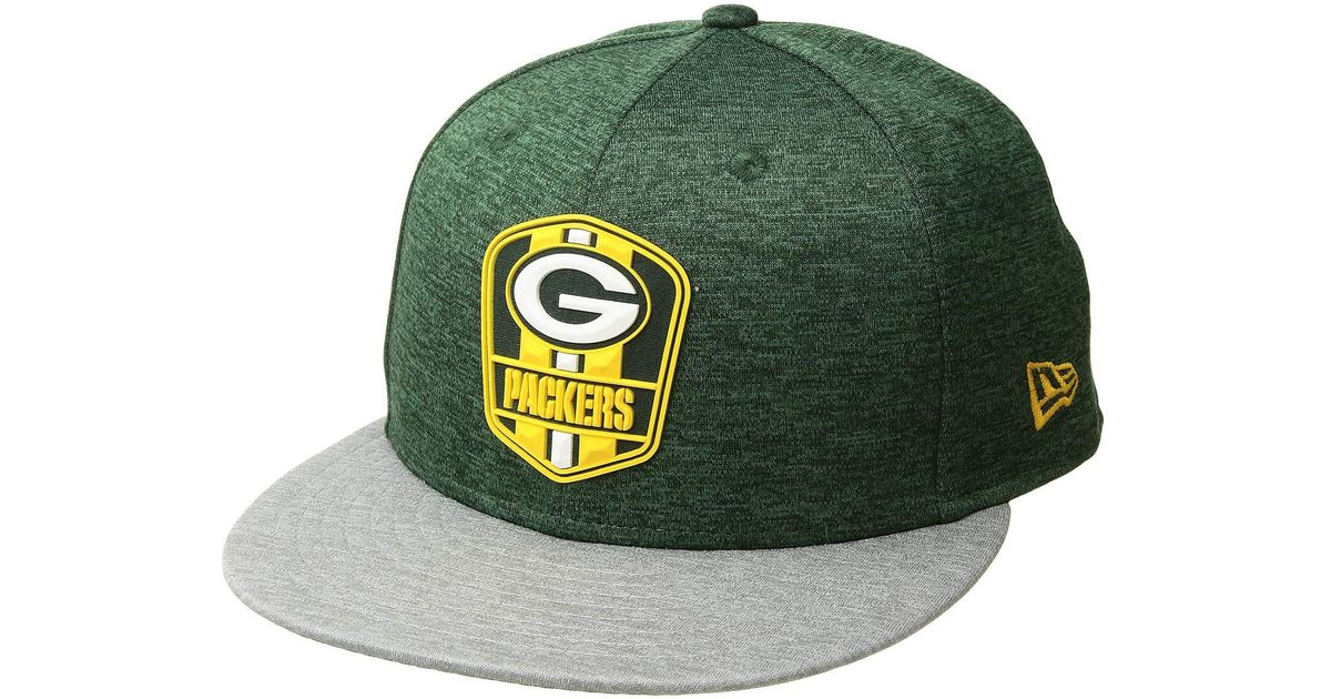 30e7f869858 Lyst - Ktz 9fifty Official Sideline Away Snapback - Green Bay Packers (grey packer  Green) Caps in Green for Men