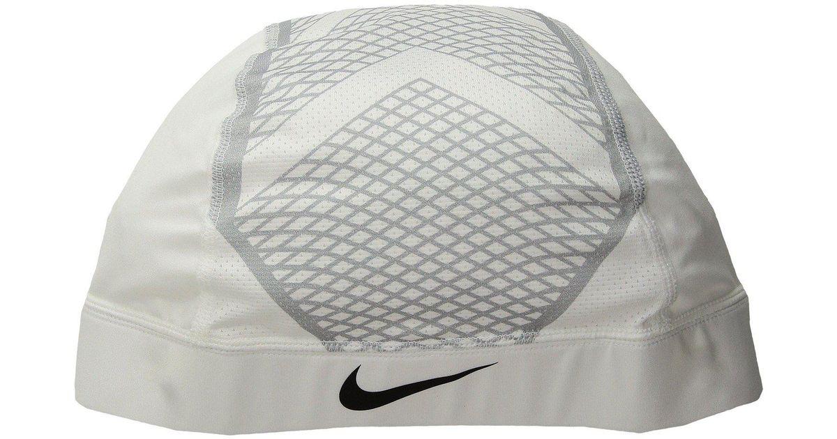 1a828c78e3651 Lyst - Nike Pro Hypercool Vapor Skull Cap 4.0 (white wolf Grey black) Caps  in Gray for Men