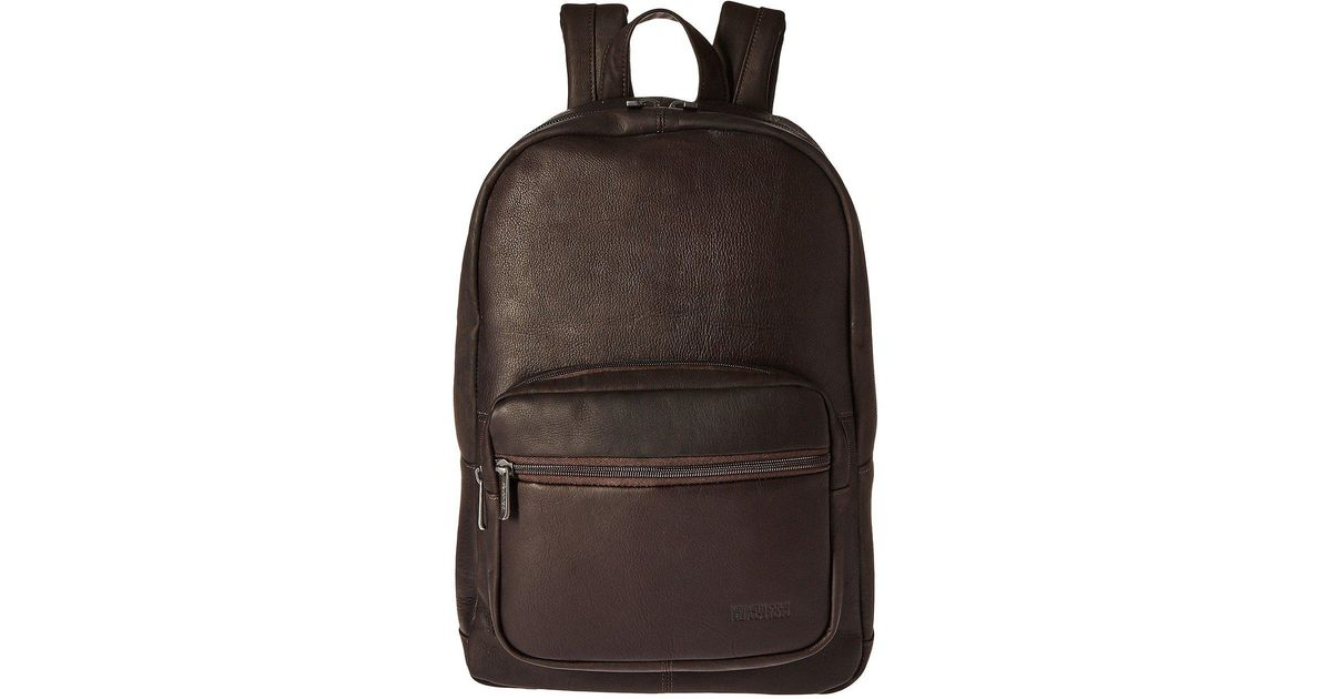 c5317fbb5 Lyst - Kenneth Cole Reaction Ahead Of The Pack - Leather Backpack (black) Backpack  Bags in Black for Men
