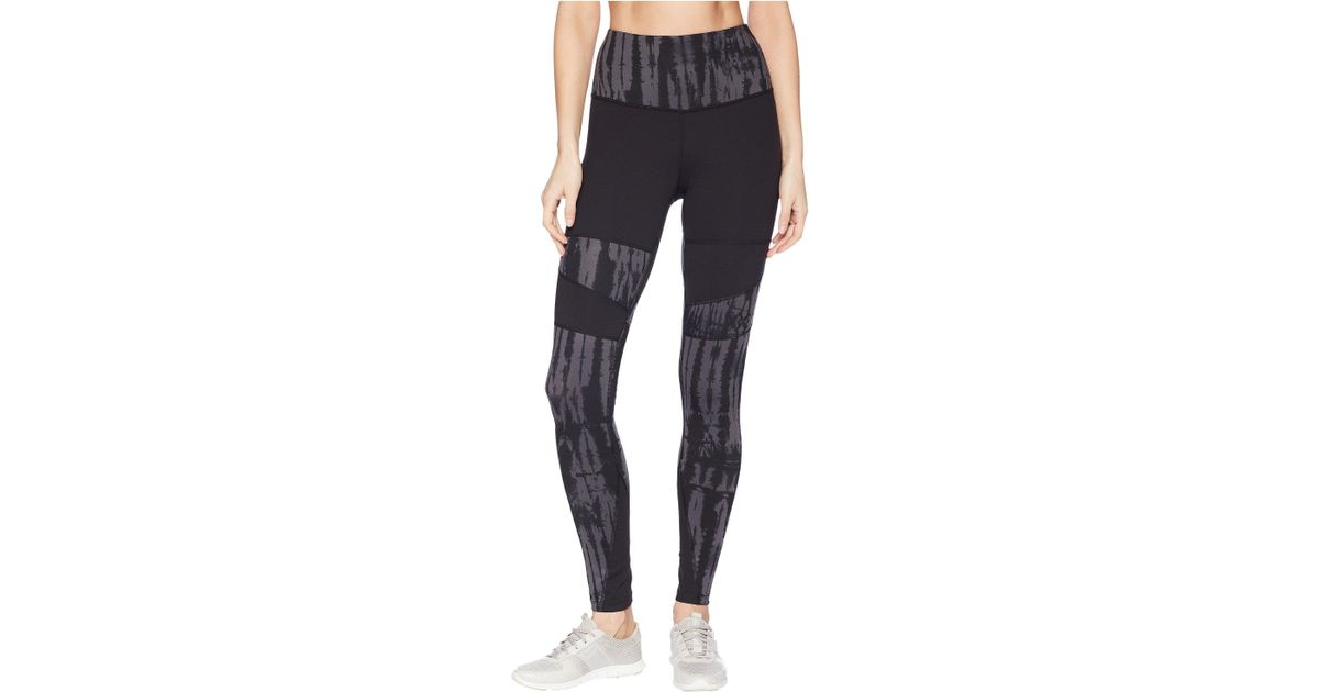 492d28be2a6519 The North Face Motivation High-rise Printed Tights (tnf Black/tnf Black  Shibori Print) Casual Pants in Black - Save 38% - Lyst