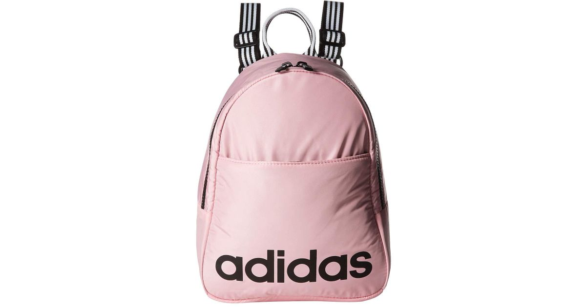 3e0025a7e8 adidas Core Mini Backpack (true Pink/black/white) Backpack Bags in Pink -  Lyst