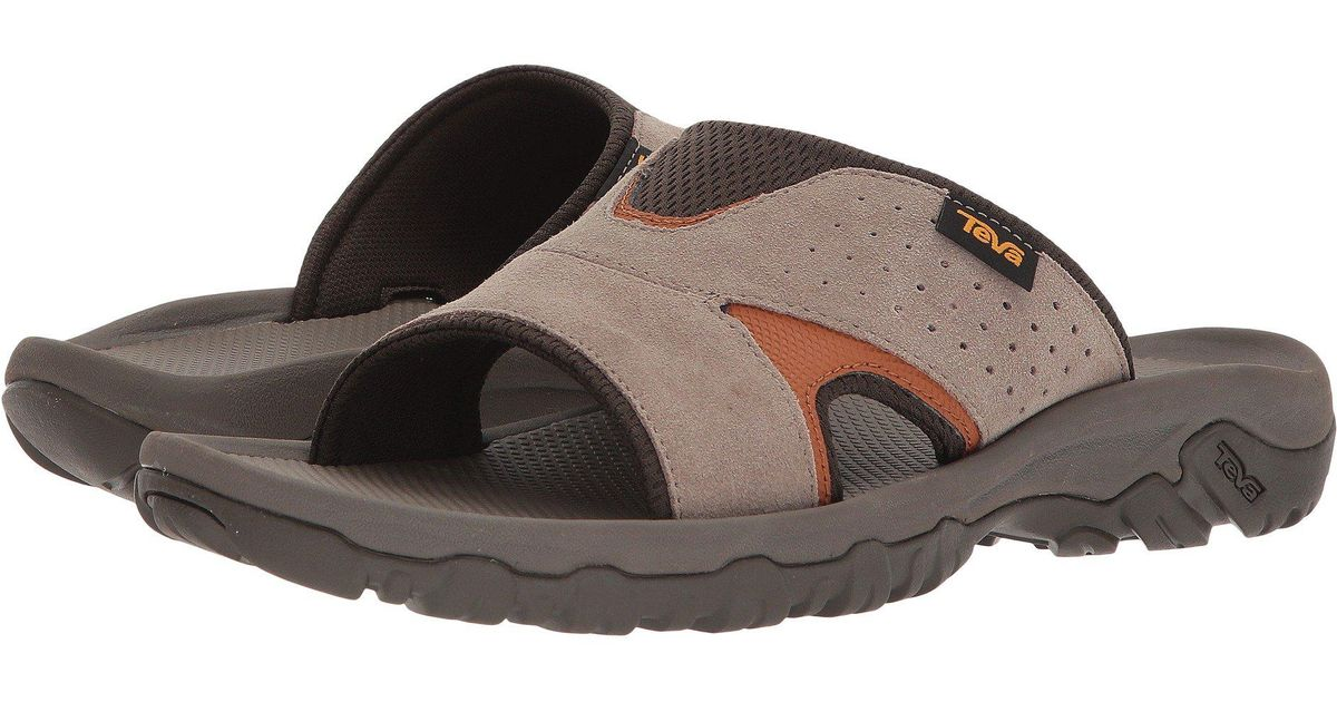 5cc31f4616a33 Lyst - Teva Katavi 2 Slide (walnut) Men s Slide Shoes for Men