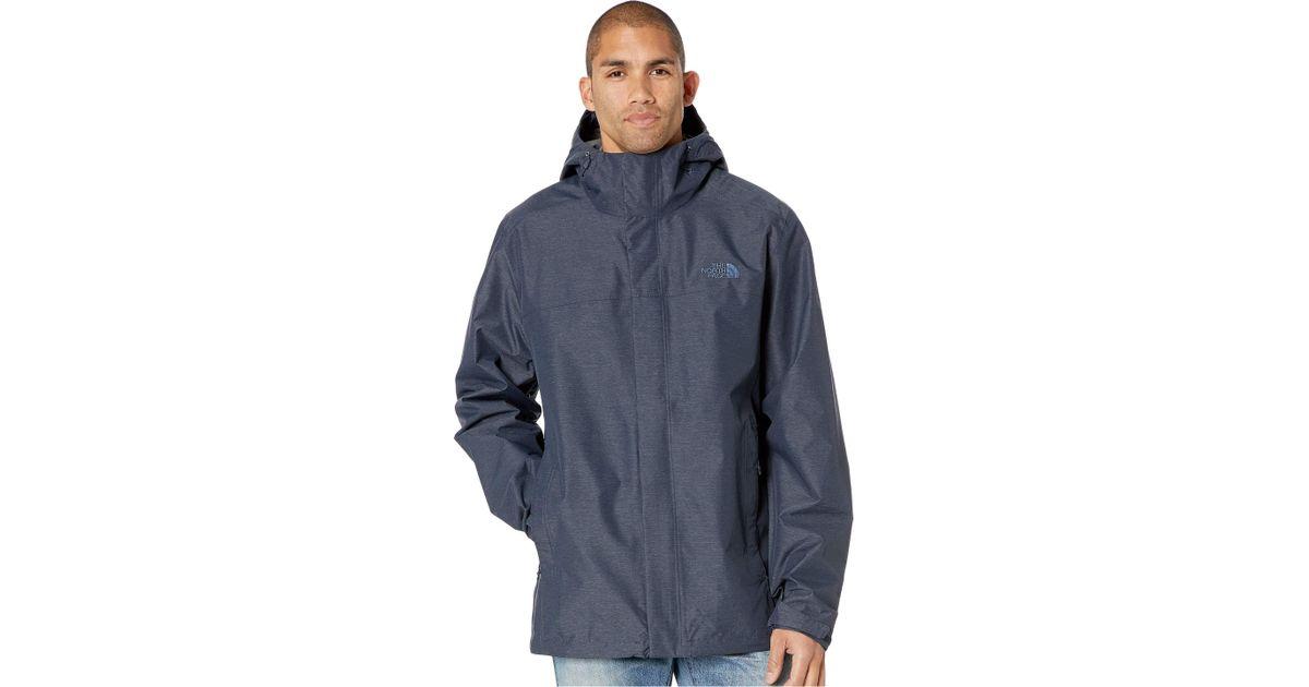 d38943c9b83e Lyst - The North Face Venture 2 Jacket Tall (tnf Black tnf Black) Men s Coat  in Blue for Men