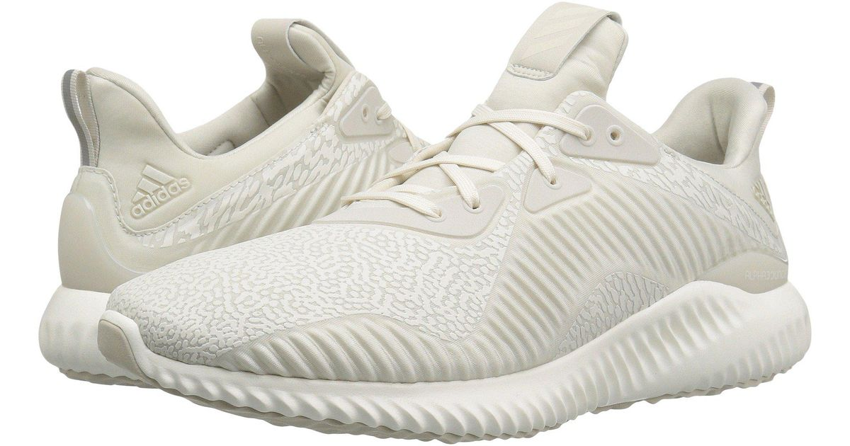 865261ba5 Lyst - adidas Originals Alphabounce Em (talc chalk White talc) Women s  Running Shoes in White