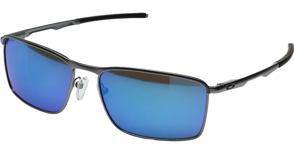 a890596086 Lyst - Oakley Conductor 6 (lead sapphire Iridium) Sport Sunglasses in Blue  for Men