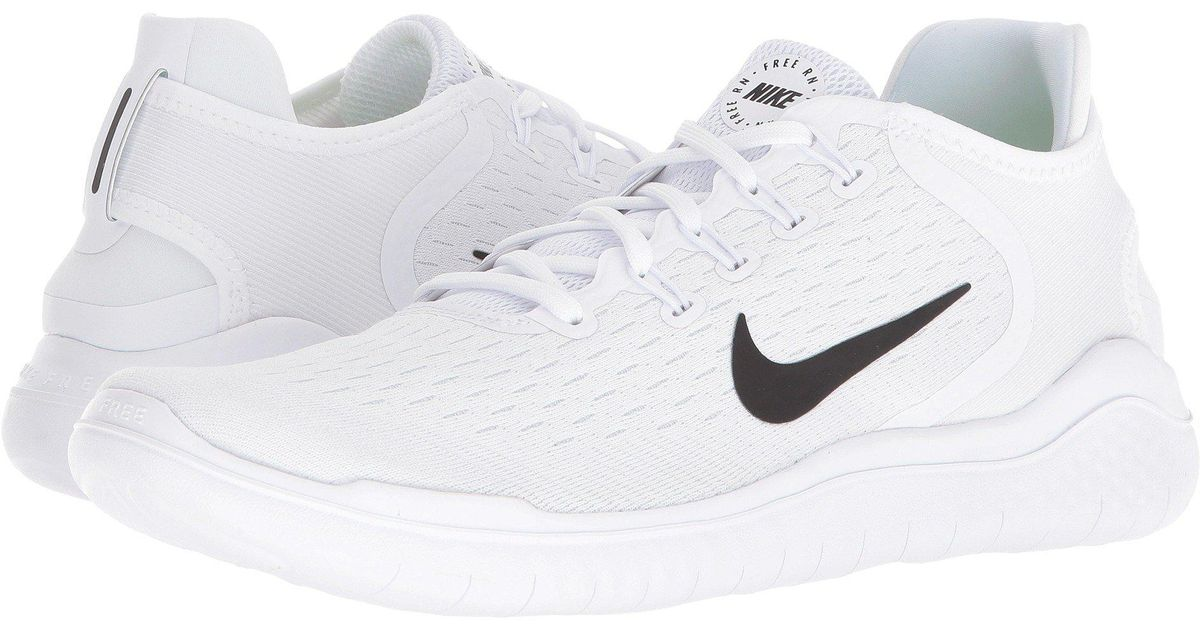 2e393eb22702 Lyst - Nike Free Rn 2018 Running Shoes in White for Men - Save 25%