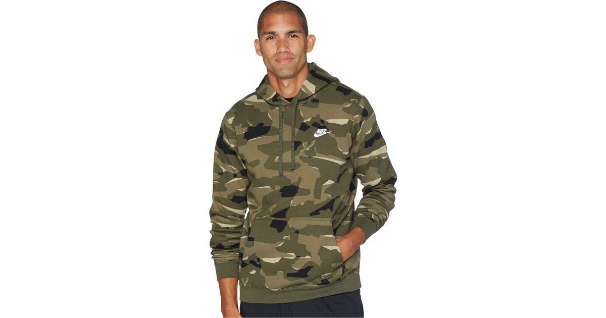 5d7adb1b0 Lyst Navymidnight Nike Club midnight Camo Nsw Hoodie Bb Pullover 88qrwCd