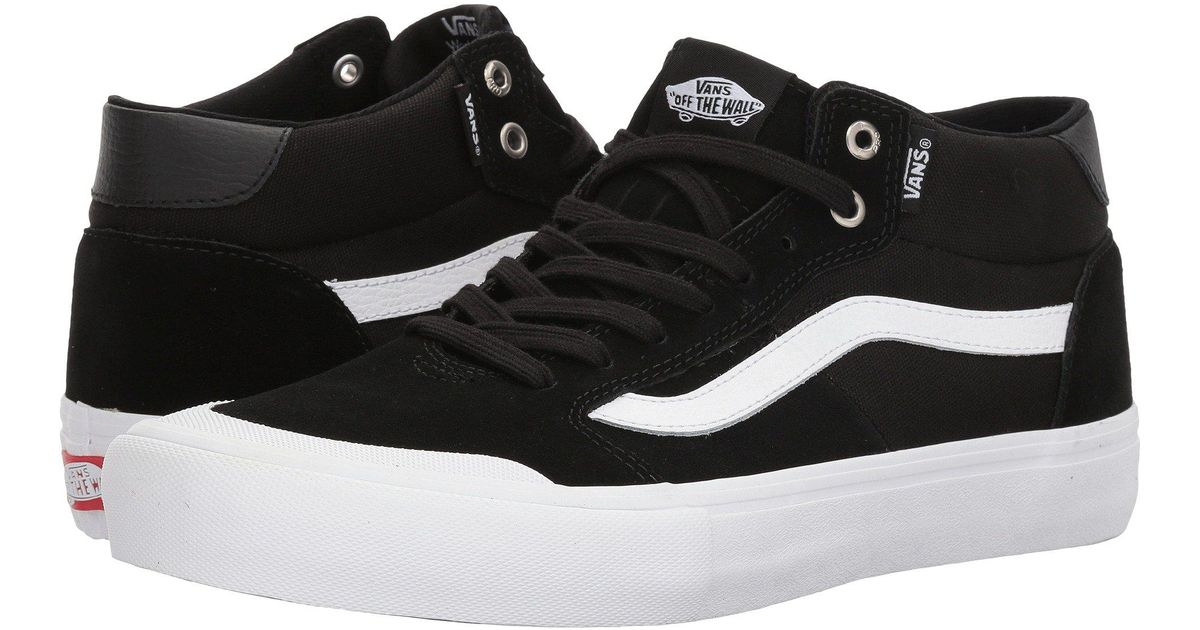 2e69d66a9b3 Vans - Black Style 112 Mid Pro for Men - Lyst