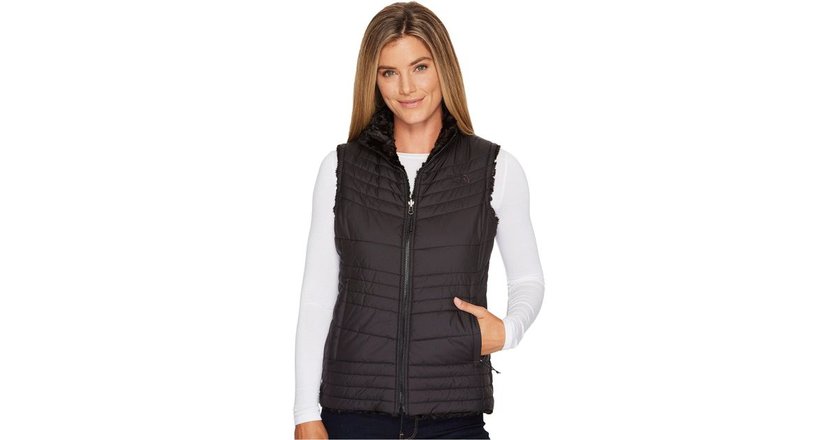665b84f8a181 Lyst - The North Face Mossbud Swirl Vest (brit Blue) Women s Vest in Black