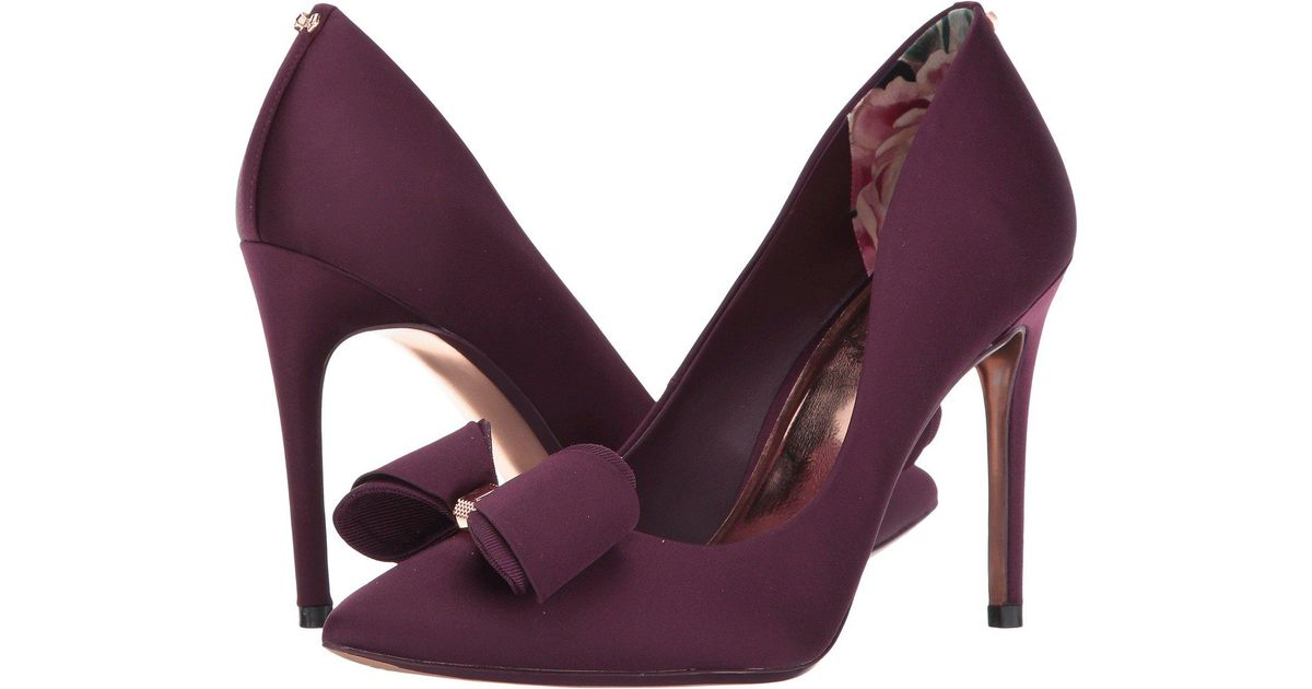 a5f4b06fc81f80 Lyst - Ted Baker Azeline Pump in Purple