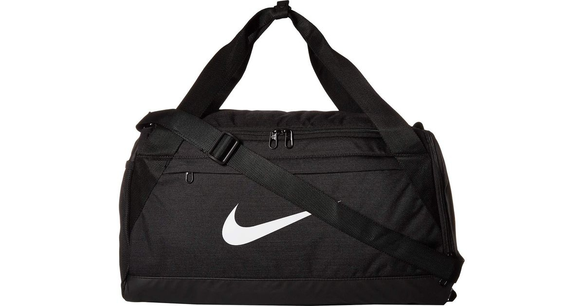 3ea61c09bb Lyst - Nike Brasilia Small Training Duffel Bag (green Abyss black white)  Duffel Bags in Black for Men