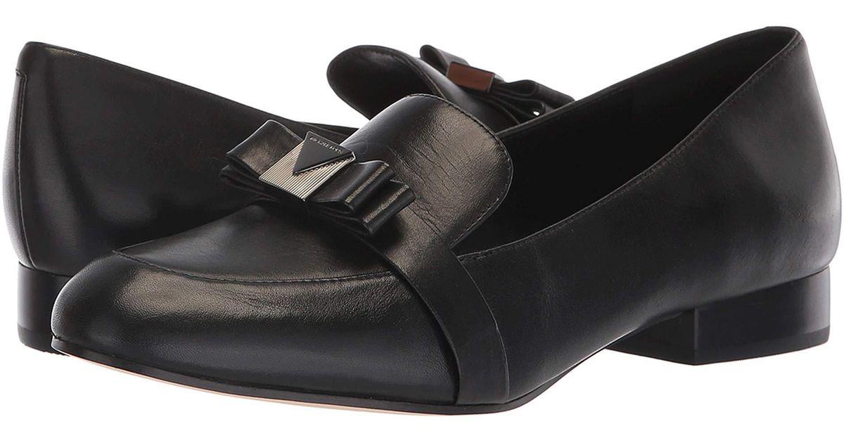 6f9cf74ccec Lyst - MICHAEL Michael Kors Caroline Loafer (black Smooth Calf) Women s  Slip On Shoes in Black