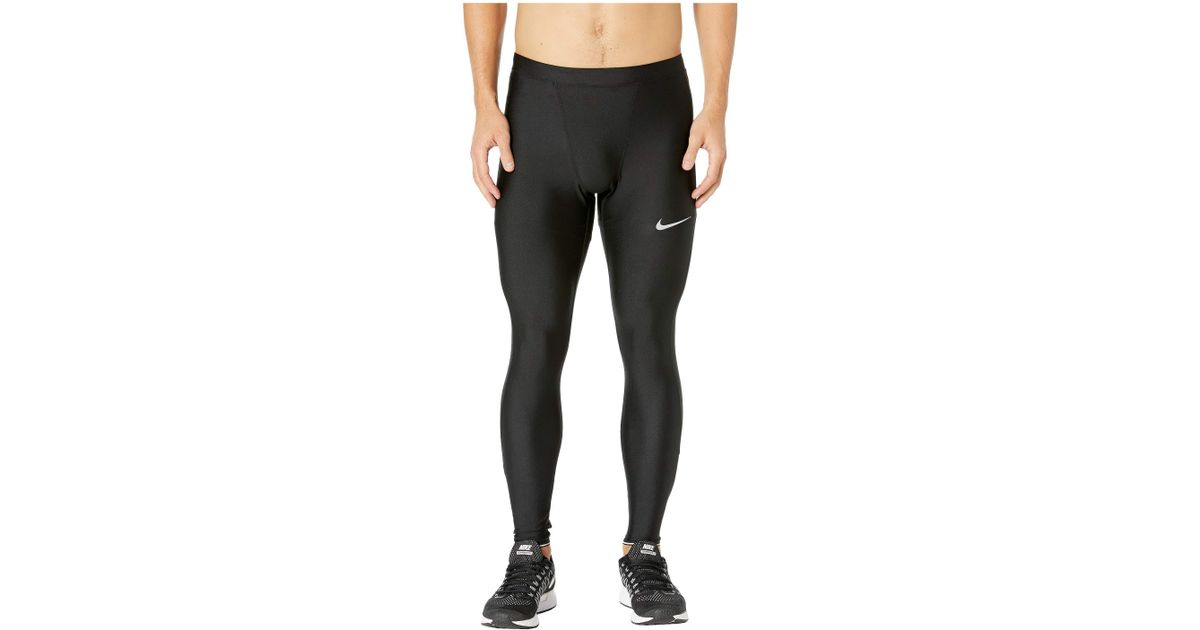 f97ac6900dbcd Nike Run Mobility Tights (black/reflective Silver) Men's Workout in Black  for Men - Lyst