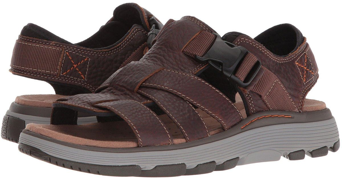 1bd92f9e99b1 Lyst - Clarks Untrek Cove in Brown for Men - Save 9%