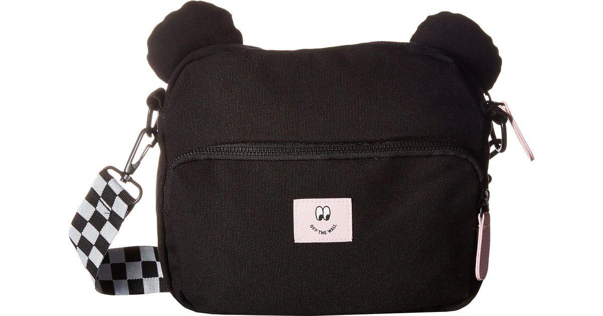 08d00f8ba4 Lyst - Vans Bear Bag in Black
