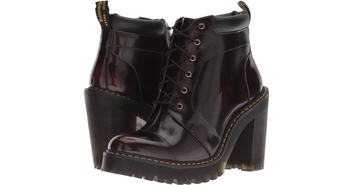 Lyst - Dr. Martens Averil Seirene (black Sendal) Women s Boots in Black ca0106fea6