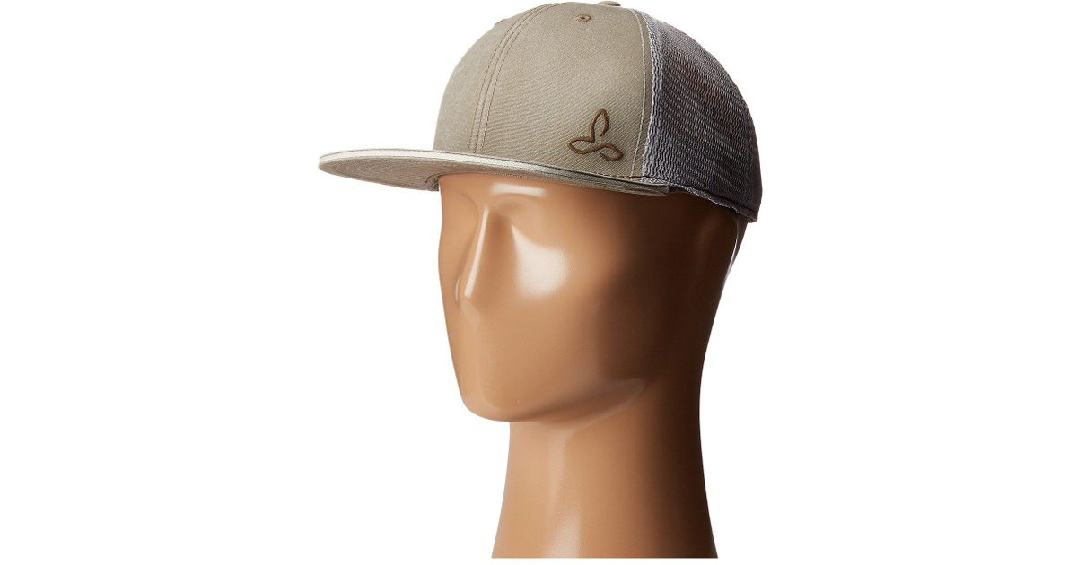 36dd2558 Lyst - Prana Karma Trucker Hat in Natural for Men