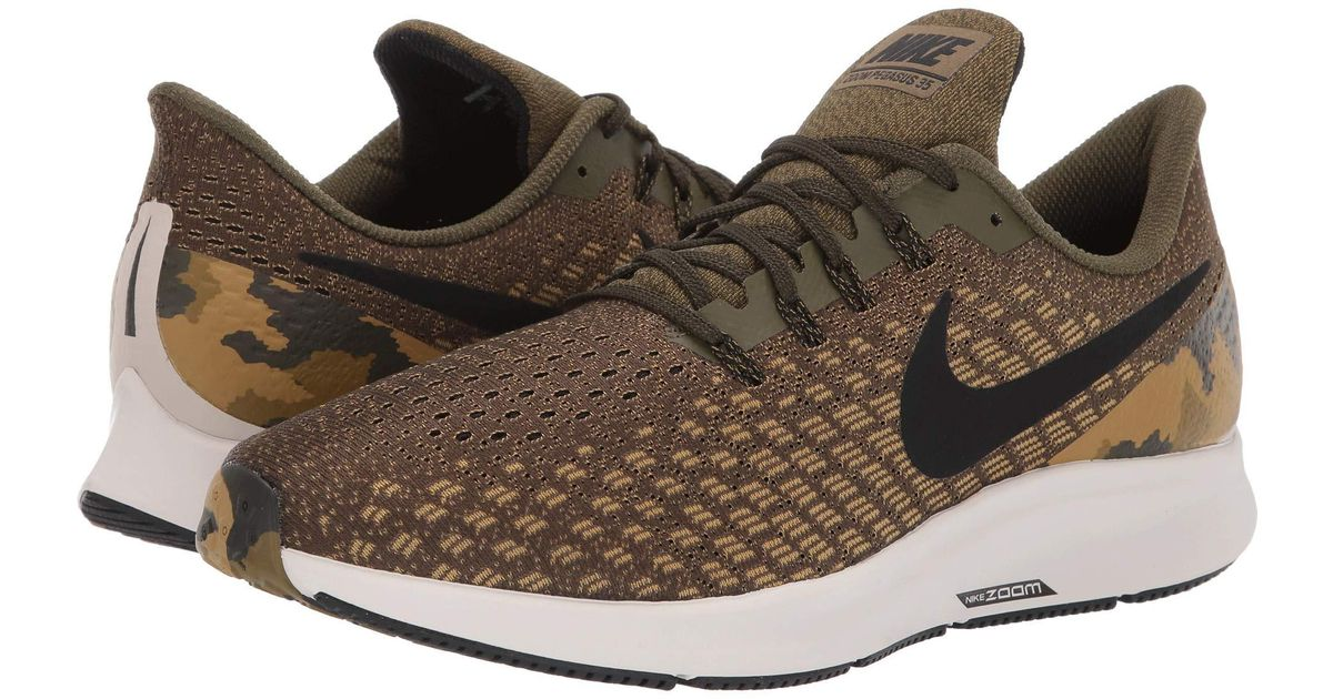 4b94a5b30534 Lyst - Nike Air Zoom Pegasus 35 Gpx (olive Canvas black light Orewood  Brown) Men s Running Shoes in Brown for Men