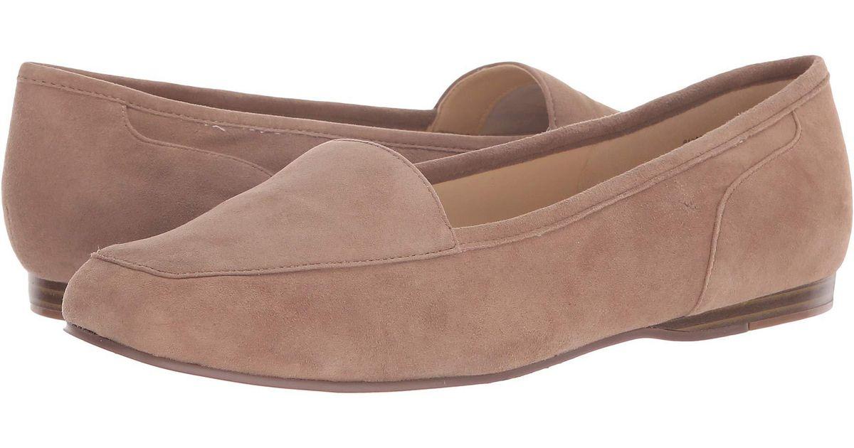 93e6f98e720 Lyst - Bandolino Liberty Flat (black Patent) Women s Slip On Shoes in  Natural