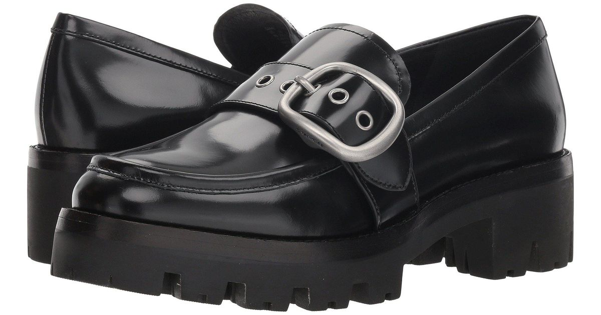 0dee9bbc22f Lyst - COACH Grand Loafer in Black - Save 50%