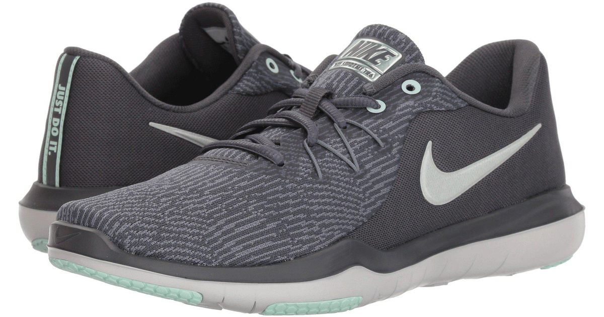 63dfc758b51 Lyst - Nike Flex Supreme Tr 6 Training (black white anthracite) Women s  Cross Training Shoes in Gray for Men