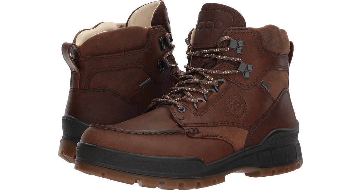 6a9b2f62fce9a Lyst - Ecco Track 25 Premium High (cocoa Brown/camel) Men's Lace-up Boots  in Brown for Men