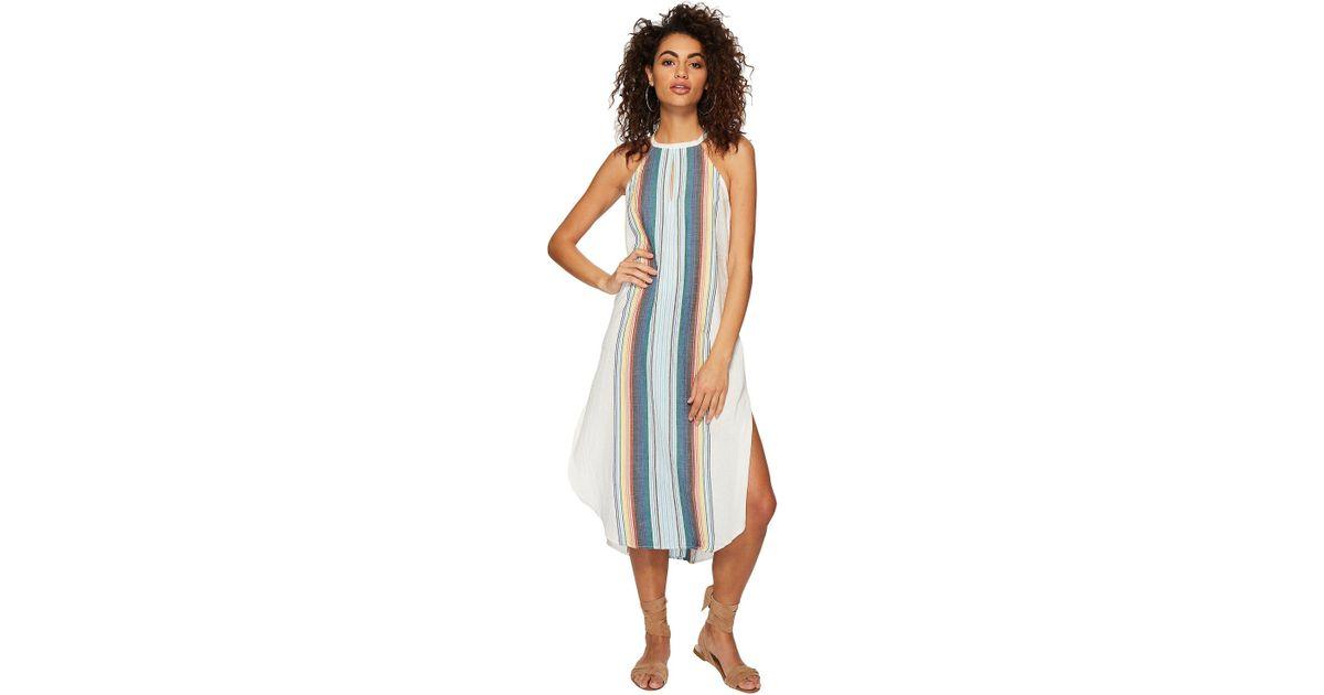 5cd17704c3 Rip Curl Beach Bazaar Maxi Dress in Blue - Lyst