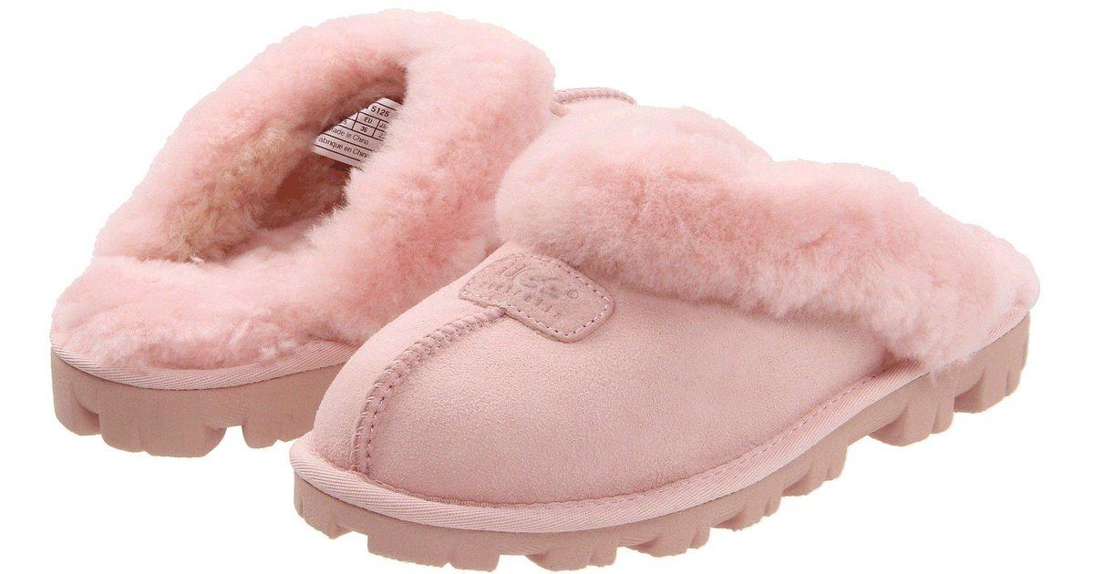 b79e61f4a15 Lyst - UGG Coquette (succulent) Women s Slippers in Pink