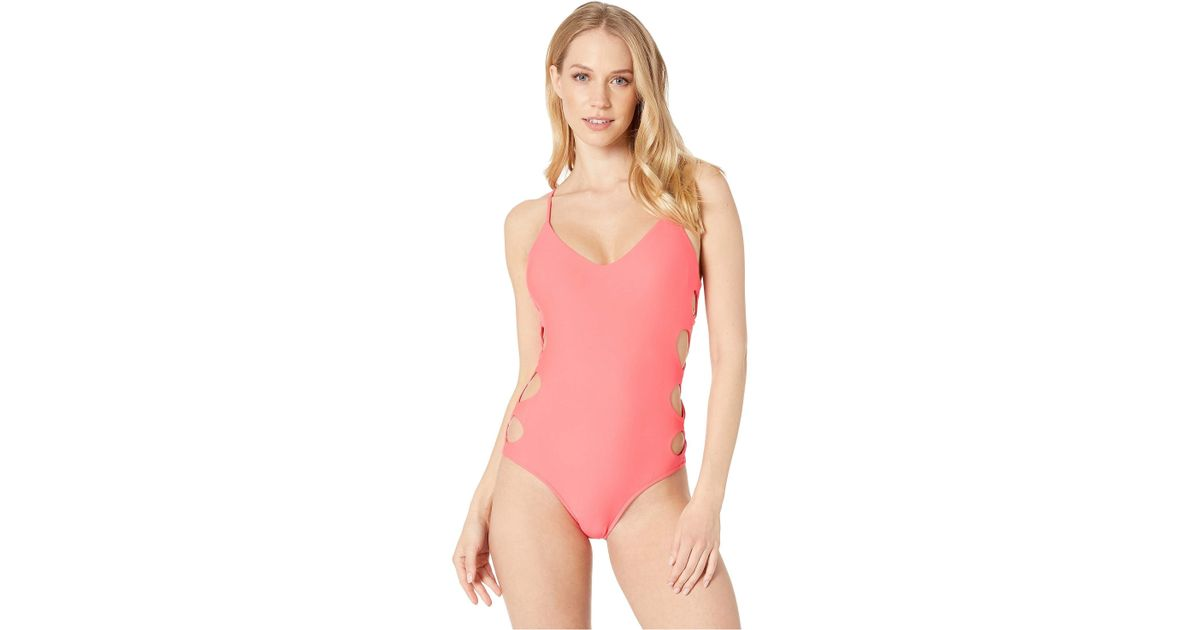 0262a8626e Lyst - Body Glove Smoothies Crissy One-piece (diva) Women s Swimsuits One  Piece in Pink
