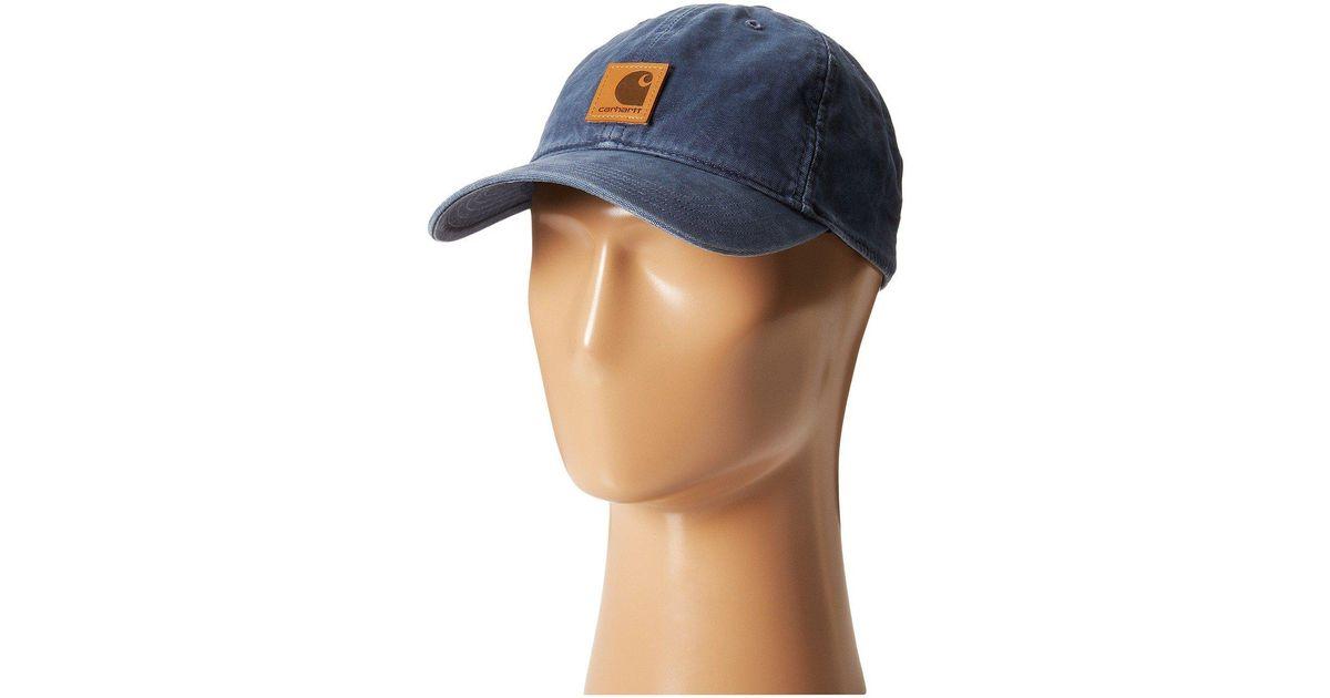Lyst - Carhartt Odessa Cap (black) Baseball Caps in Blue for Men bf5a92d77eee