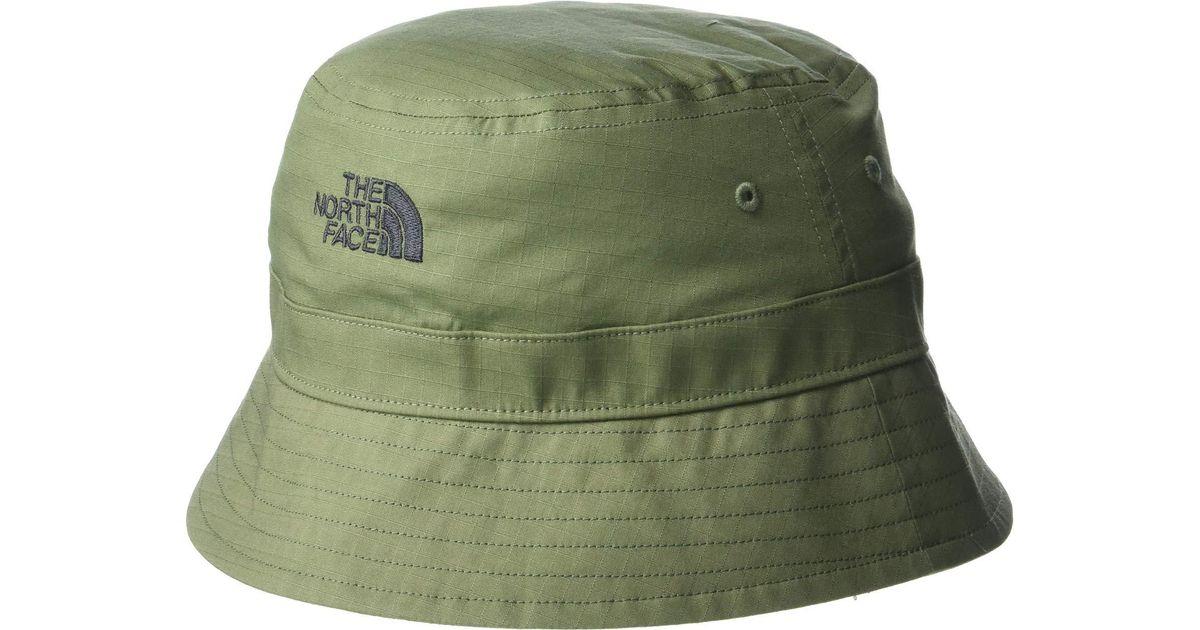 b62b85f22dc Lyst - The North Face Cotton Bucket Hat (asphalt Grey) Bucket Caps in Green  for Men