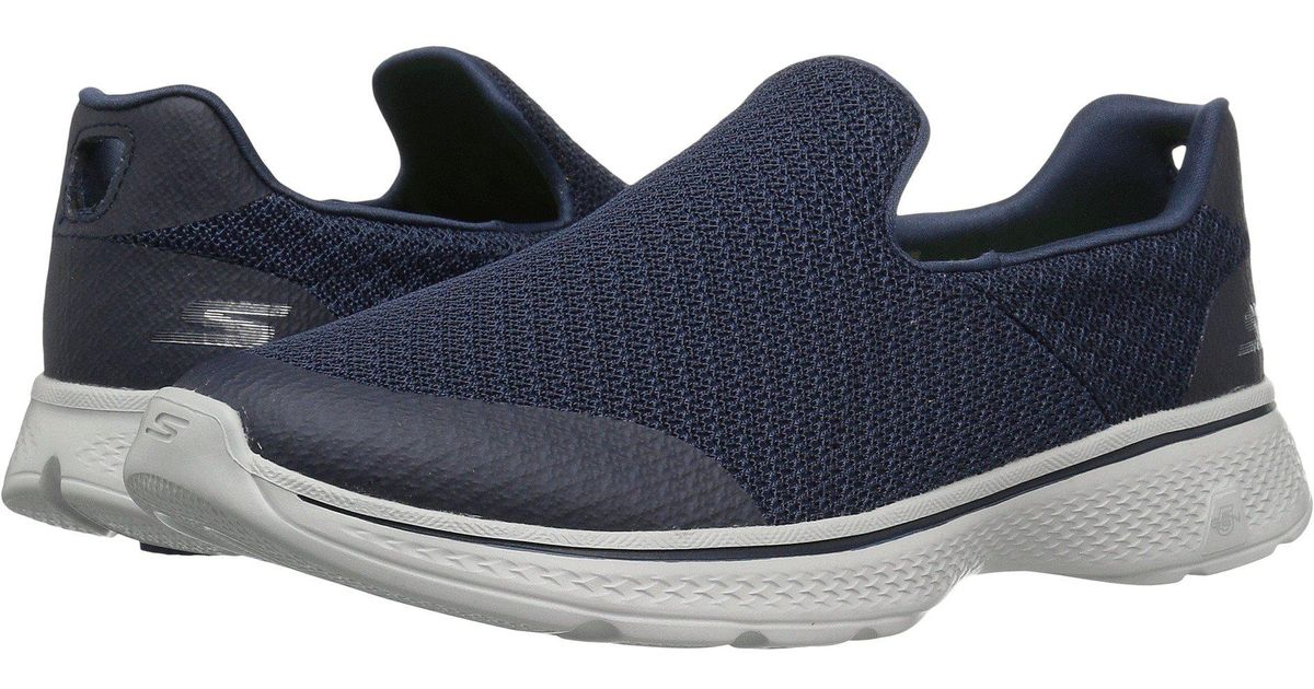 f191481b16b9 Lyst - Skechers Go Walk 4 - Expert (black) Men s Shoes in Blue for Men