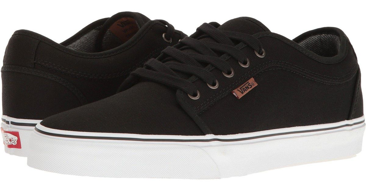 aaf2a0b6397c5e Lyst - Vans Chukka Low ((suiting) Pewter frost Gray) Men s Skate Shoes in  Black for Men