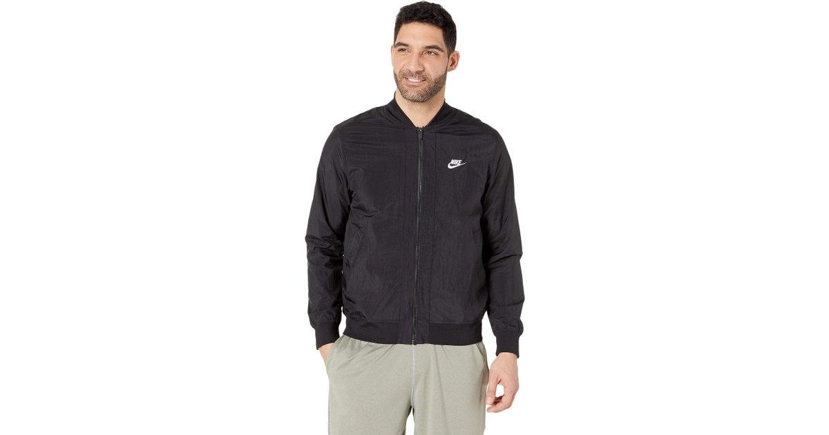 af267f988ee5 Lyst - Nike Nsw Woven Players Jacket (armory Blue white) Men s Coat in  Black for Men